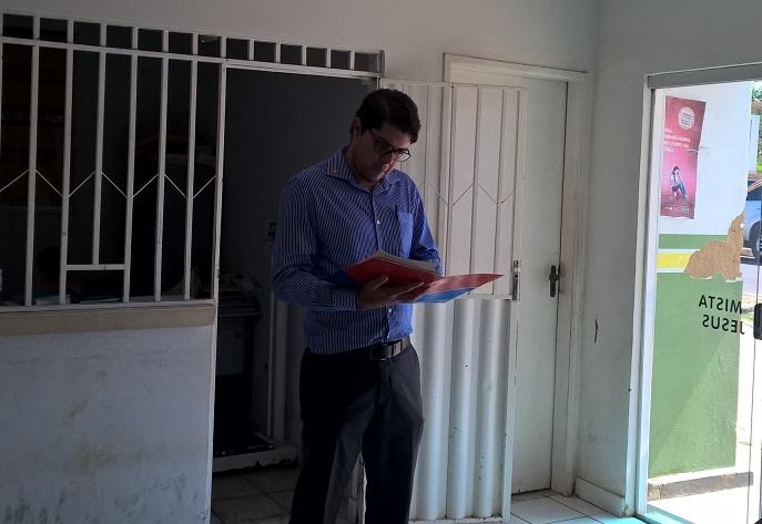 Thiago Barbosa Bernardo coordenou as inspeções