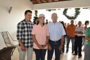 Deputado Rigo Teles, ex-governadora Roseana Sarney e o ex-prefeito Nenzim