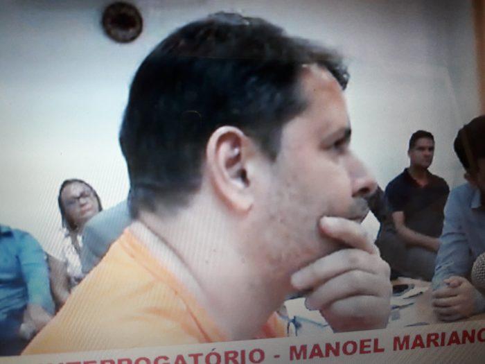 Vídeo: Junior do Nenzin presta depoimento e conta detalhes do homicídio do próprio pai