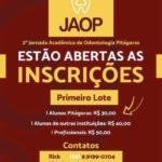 Pitágoras abre inscrições para II Jornada Acadêmica de Odontologia