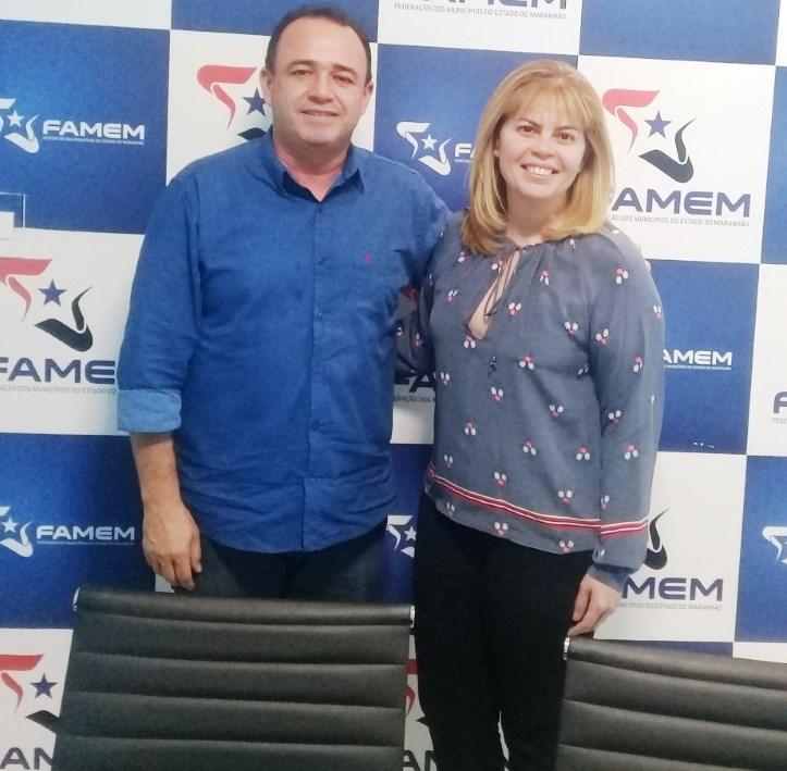 Presidente da FAMEM discute municipalização do trânsito com a diretora-geral do Detran/MA