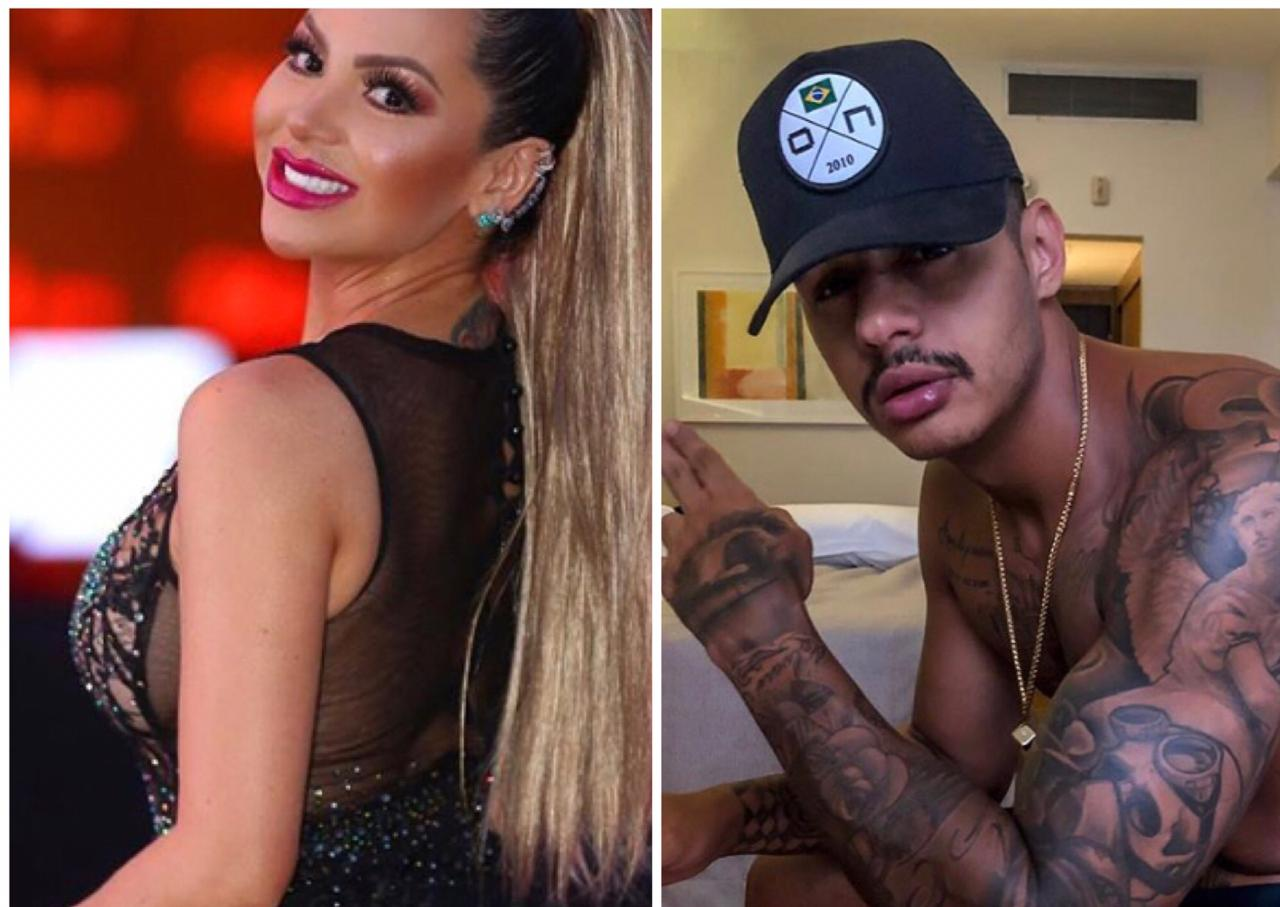 Karol Sampaio pegou o rapper Hungria no Baile da Santinha em São Luís