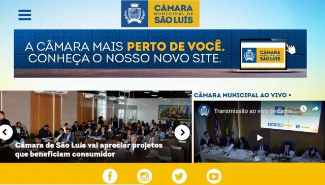 Novo site da Câmara transmite sessões em tempo real pela internet