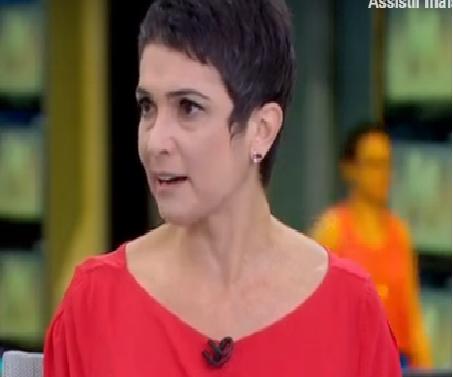 Sandra Annenberg segura para não chorar ao vivo durante notícia sobre a morte de Ricardo Boechat