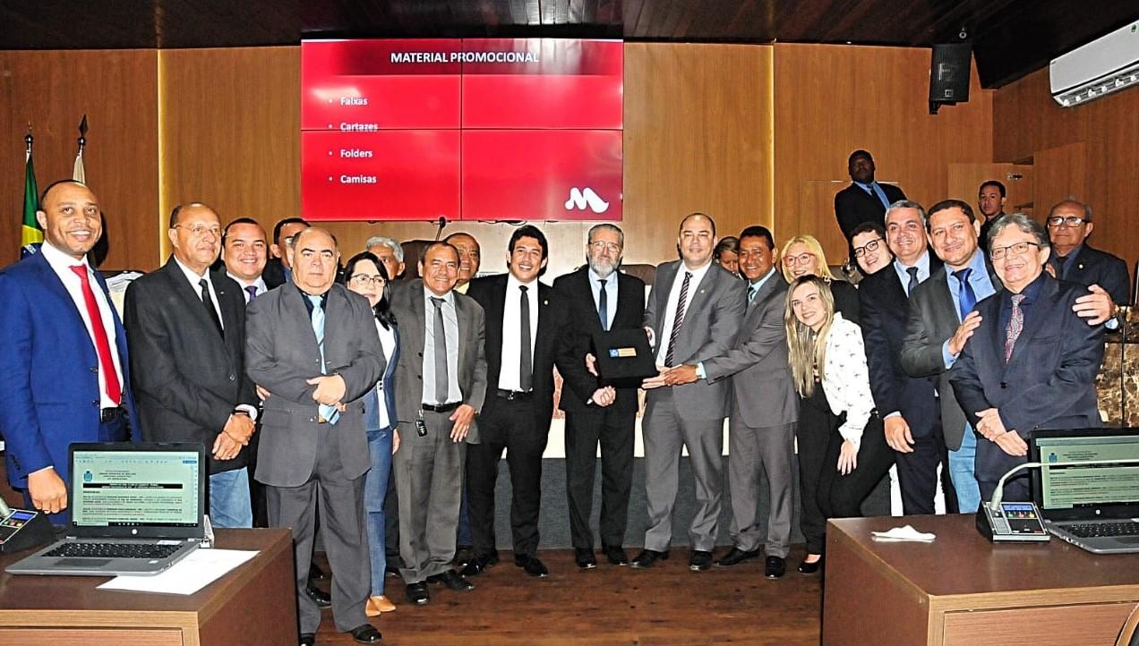 Câmara de São Luís e Grupo Mercúrio firmam parceria para incentivar doação de sangue