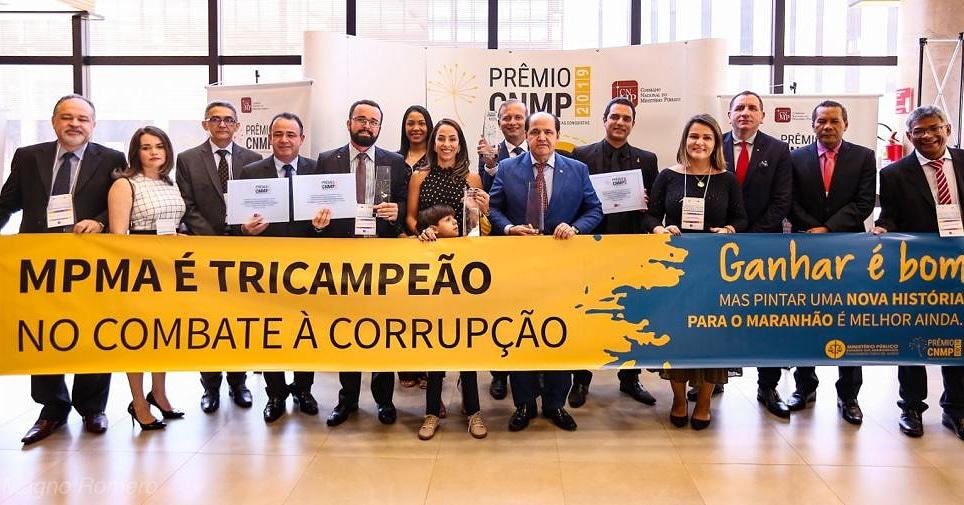 Prêmio CNMP: Ministério Público do Maranhão é tricampeão na categoria Redução da Corrupção