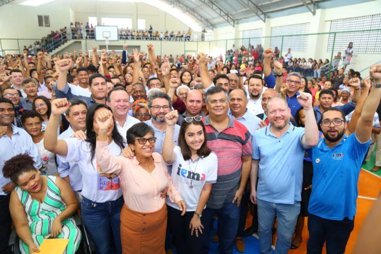 Othelino Neto participa da inauguração de unidade plena do Iema em Cururupu