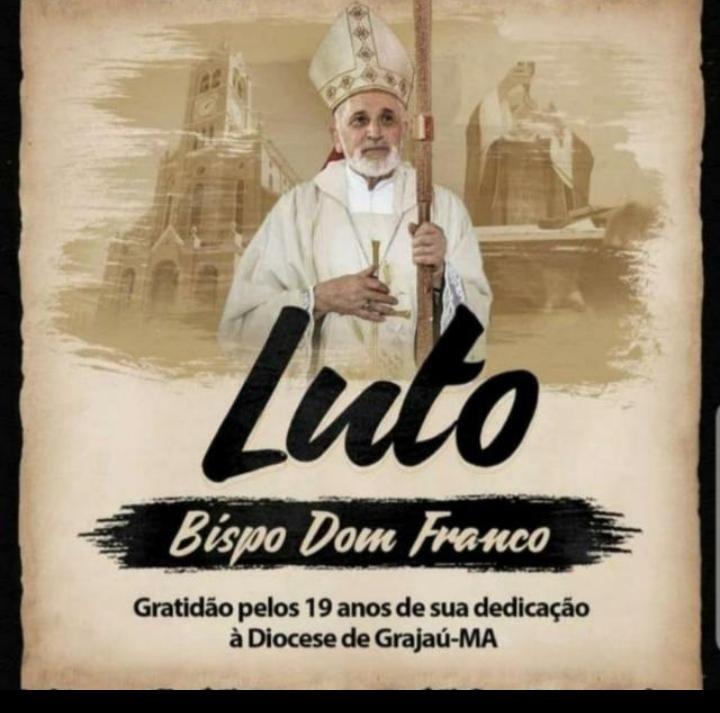 Deputado Rigo Teles lamenta morte do Bispo Emérito de Grajaú Dom Franco Cuter