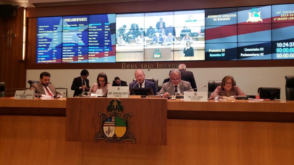Assembleia aprova projetos de lei do Executivo nas áreas da agricultura, saúde, segurança e emprego