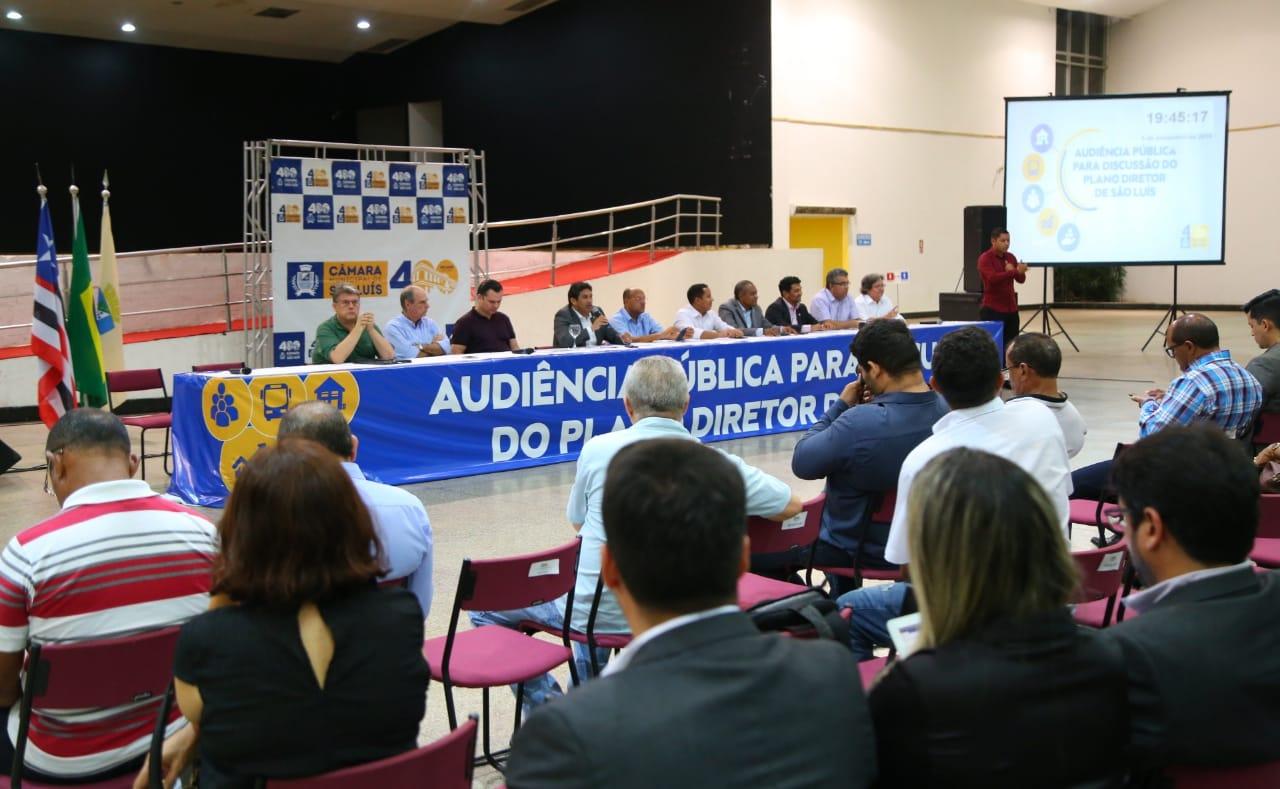 Câmara de São Luís realiza segunda audiência para discutir novo Plano Diretor