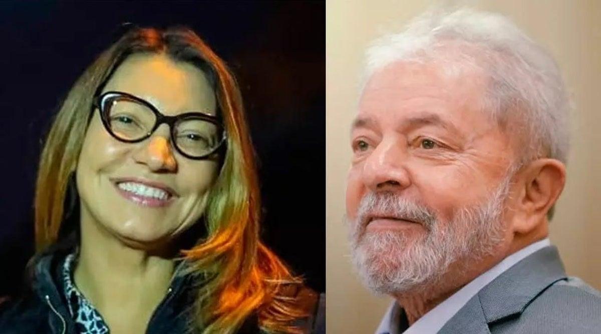 """Namorada de Lula diz que vai buscá-lo nesta sexta: """"Me espera"""""""