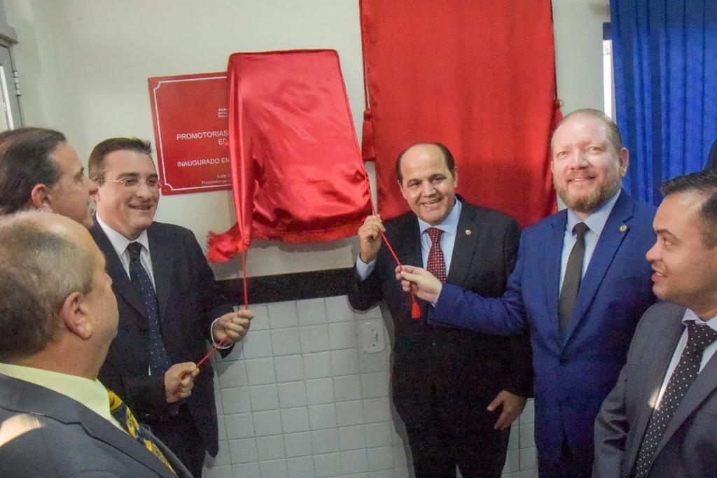 Othelino destaca fortalecimento do MP na inauguração da nova sede das Promotorias de Justiça em Caxias