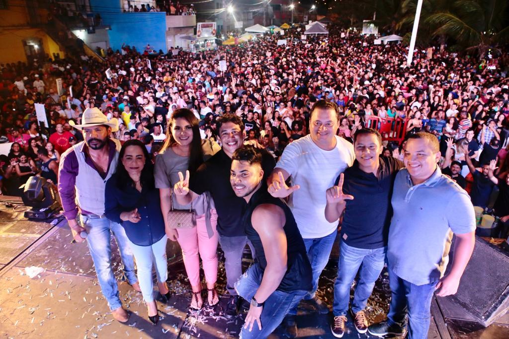 Osmar Filho celebra 404 anos do bairro São Francisco com grande festa para comunidade
