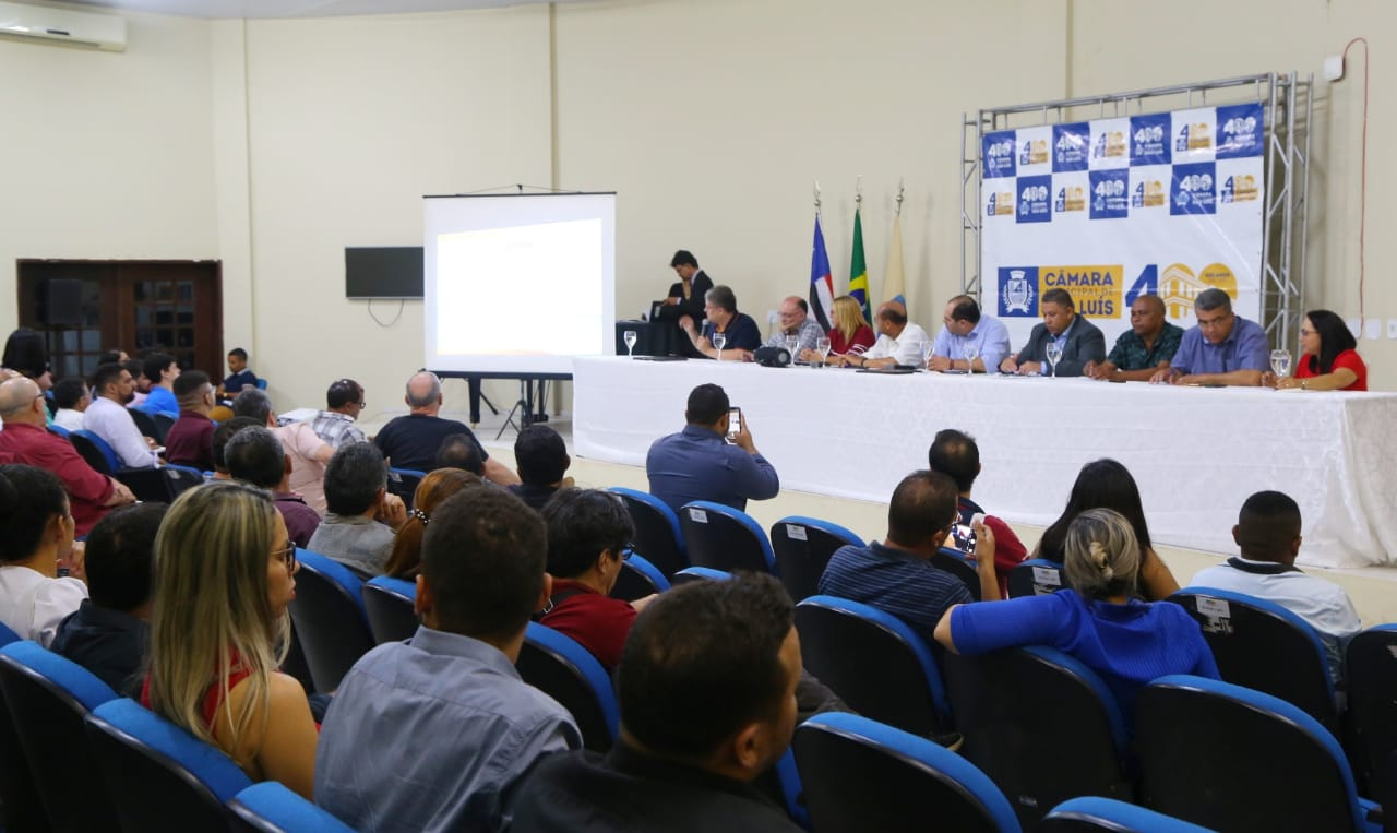 População debate com vereadores Plano Diretor de São Luís durante quarta audiência pública