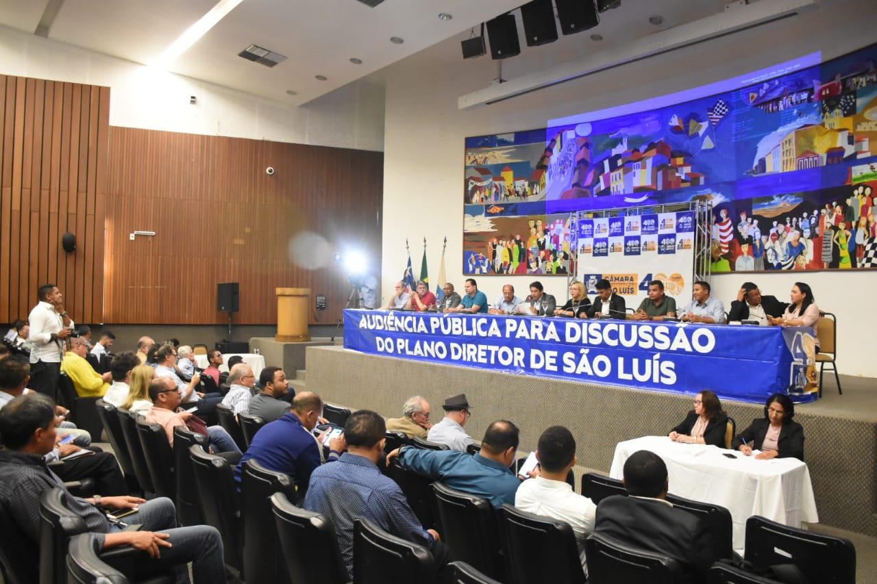 Representantes de entidades fazem exposição sobre proposta do Plano Diretor de São Luís