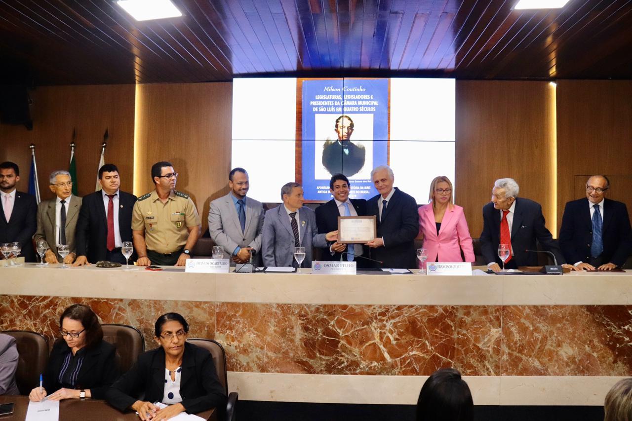 Câmara Municipal de São Luís comemora 400 anos de história