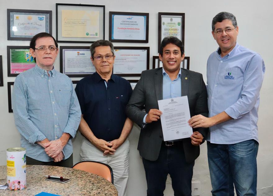 Osmar Filho destina nova emenda parlamentar para Hospital Aldenora Bello