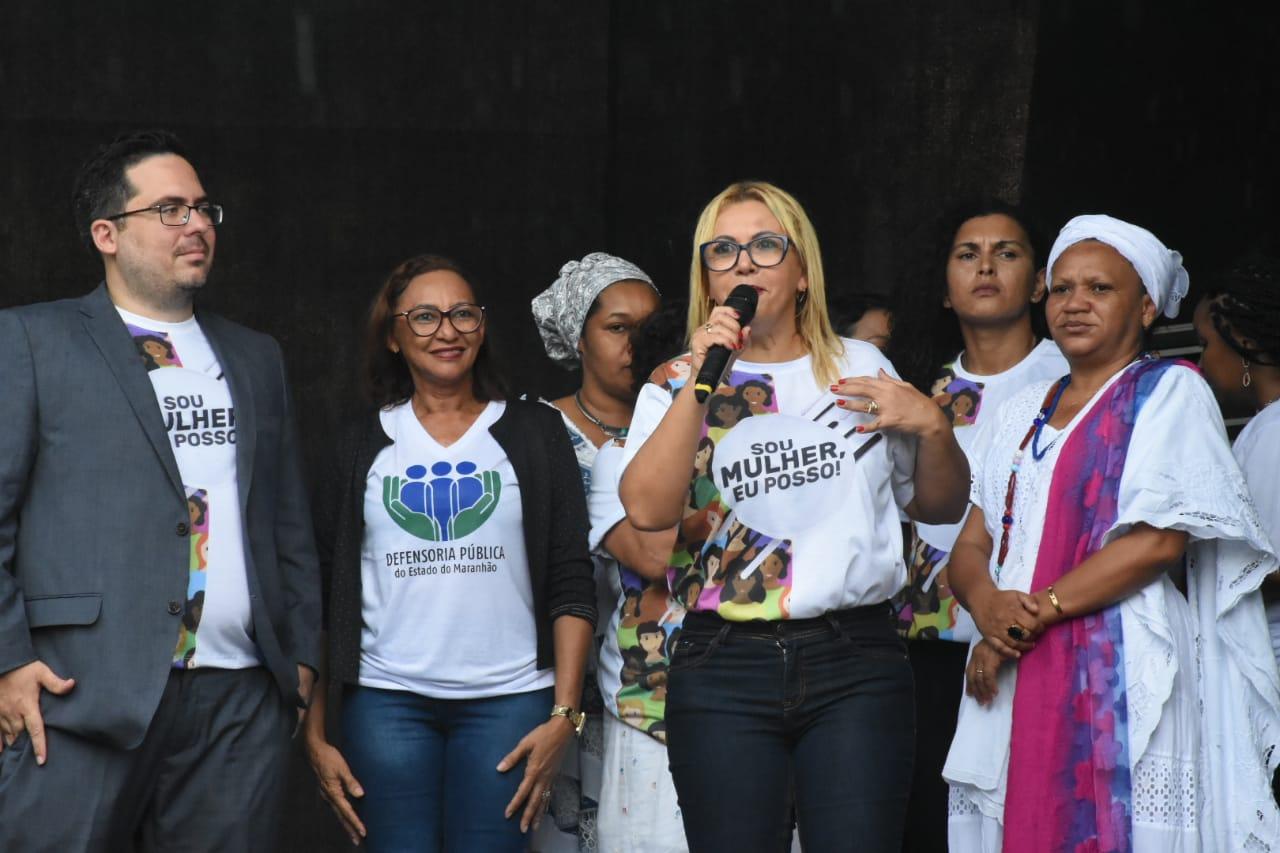 """""""Sou Mulher, Eu Posso!"""": Procuradoria da Mulher da Câmara realiza ação comemorativa ao 8 de Março"""
