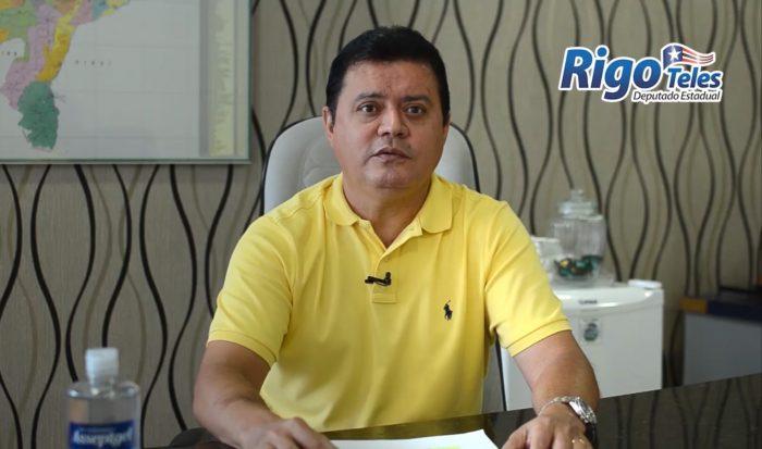 Rigo Teles destina de suas emendas, R$ 800 mil para o prefeito Eric Costa combater o Coronavírus