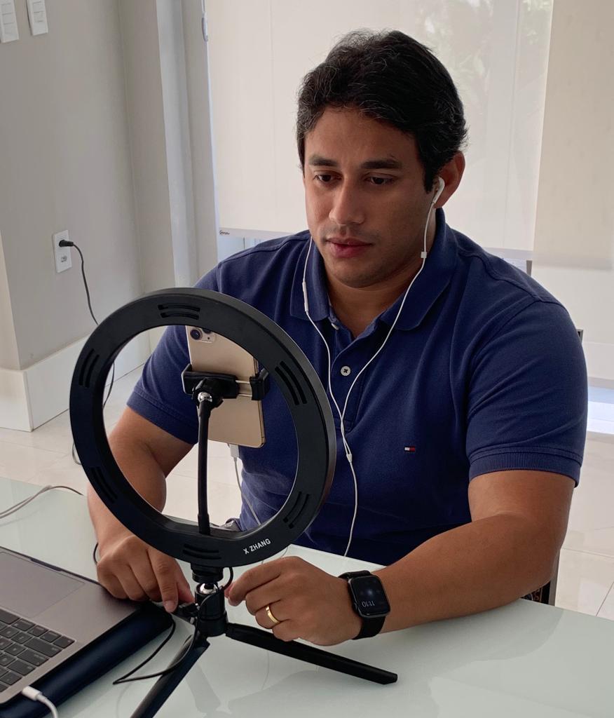 Osmar Filho prorroga medidas restritivas na Câmara Municipal de São Luís