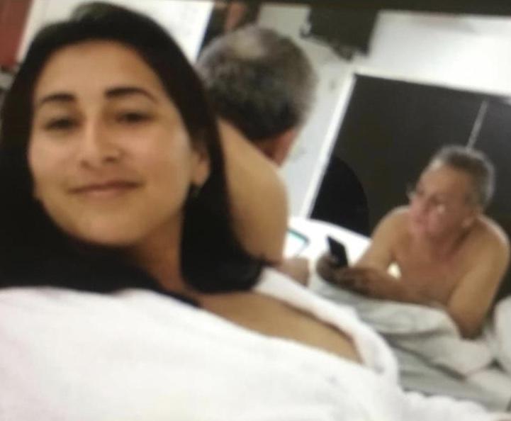 Urgente! Vaza foto do prefeito de Santa Helena no motel com a amante