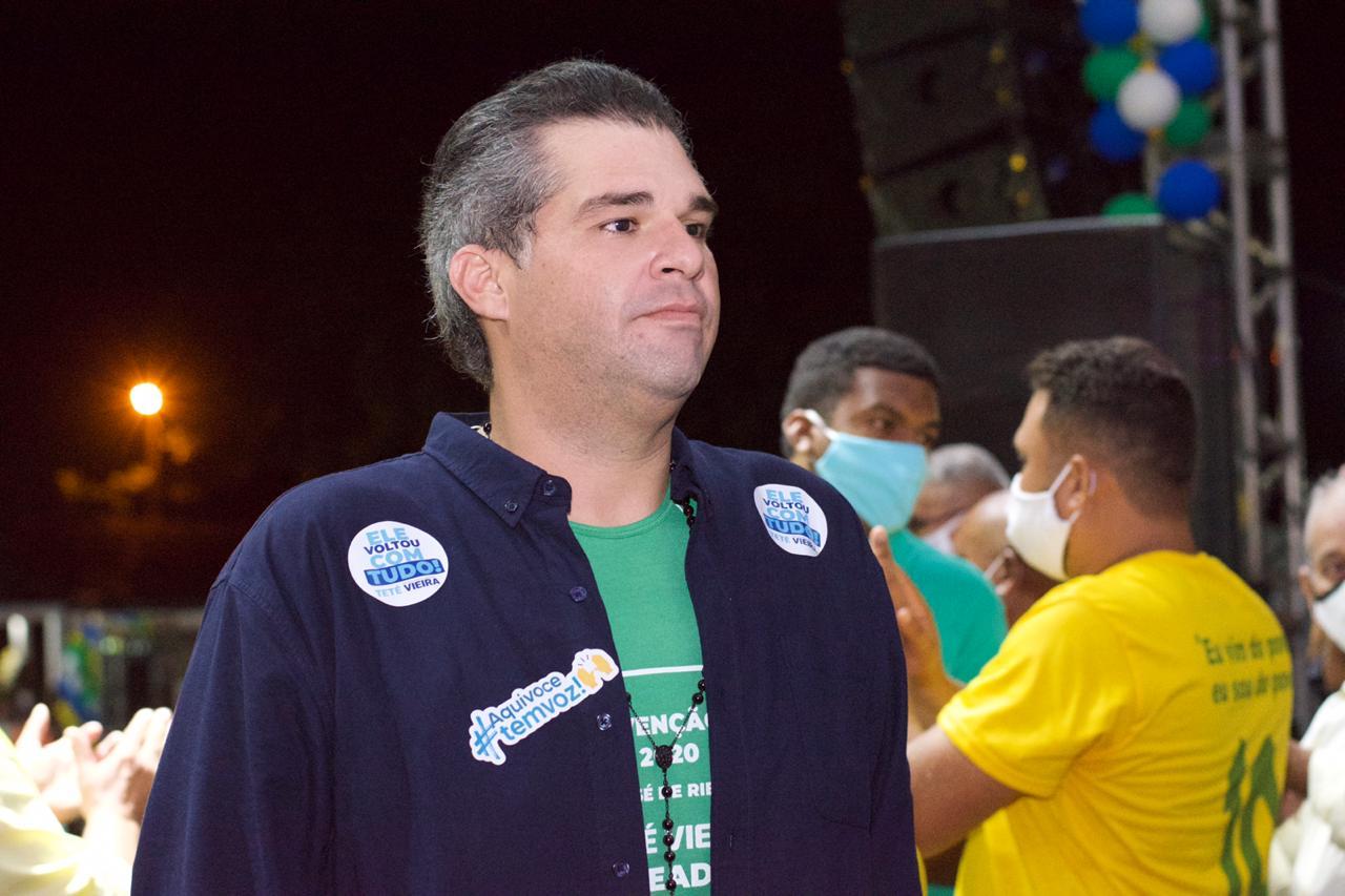 Teté Vieira é aclamado em São José de Ribamar e confirma pré-candidatura a vereador em convenção do PV