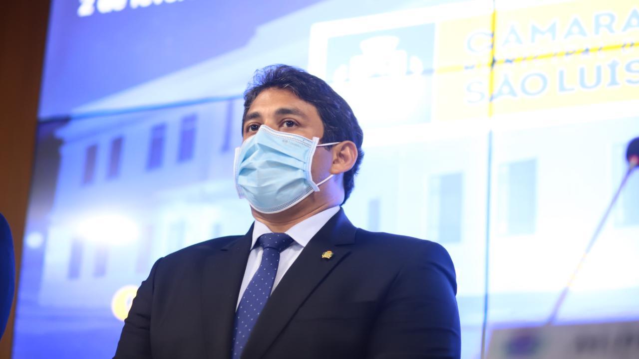 """""""A Câmara Municipal irá contribuir com o avanço da imunização em São Luís"""", diz Osmar Filho ao anunciar emenda coletiva para a Saúde"""