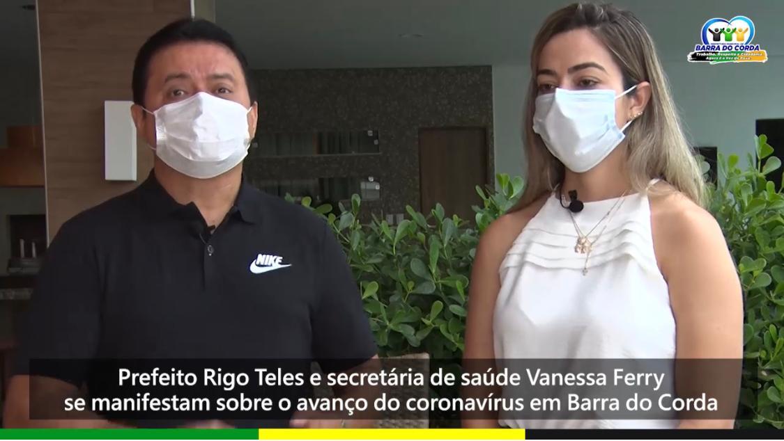 Prefeito e secretária de saúde alertam que existem apenas 3 leitos para covid-19 em Barra do Corda