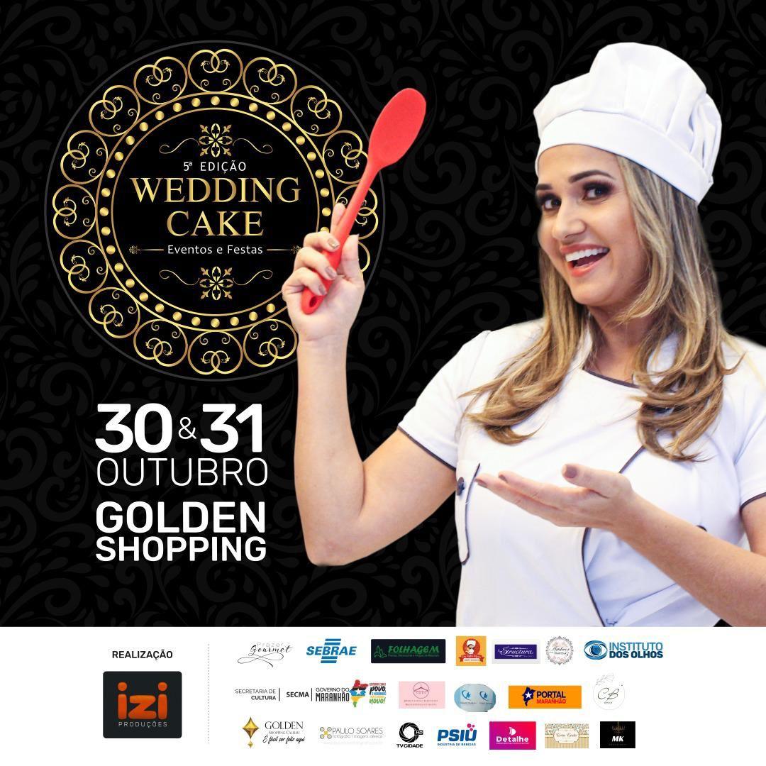 Wedding Cake acontecerá nos dias 30 e 31 de outubro no Golden Shopping Calhau
